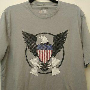 Men's Under Armour Heat Gear Loose Fit Eagle Sz LG